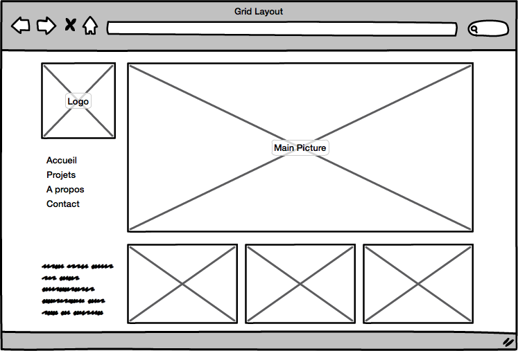 Website Grid Layout